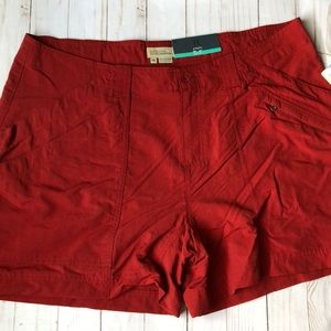 Royal Robbins Red Shorts